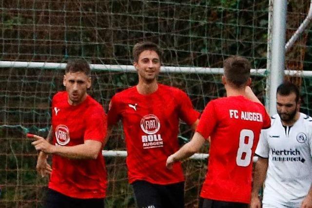 Der FC Auggen liefert dem Tabellenzweiten Kehler FV einen echten Fight