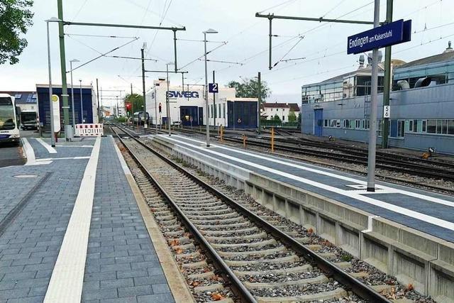 Zwischen Endingen und Bötzingen fahren fünf Wochen lang keine Züge