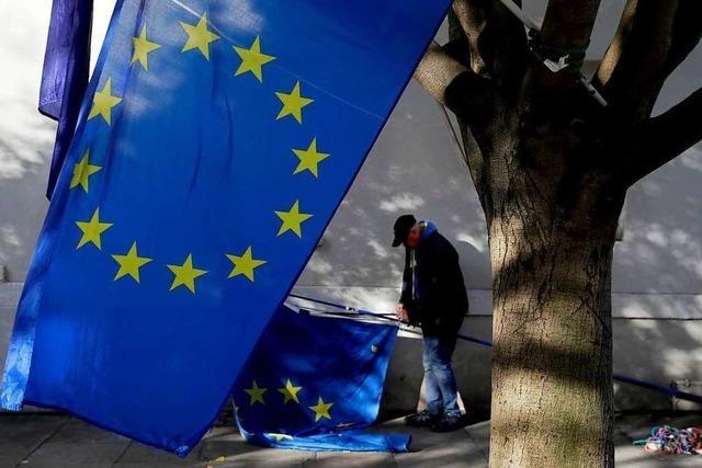 EU-Staaten einigen sich auf Brexit-Aufschub bis Ende Januar