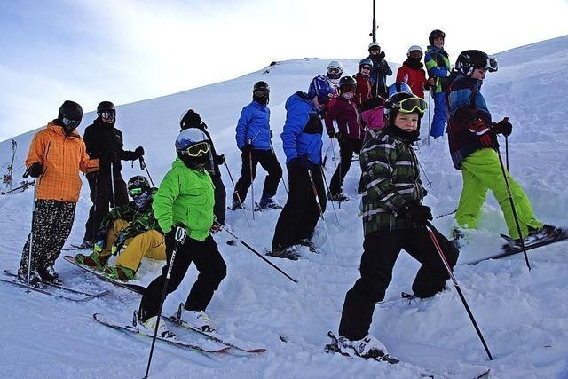 Große Zufriedenheit beim Skiclub Binzen