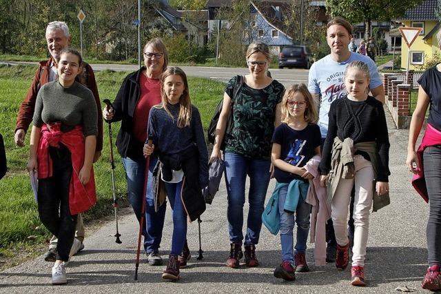 39. Internationale Wandertage in Dörlinbach