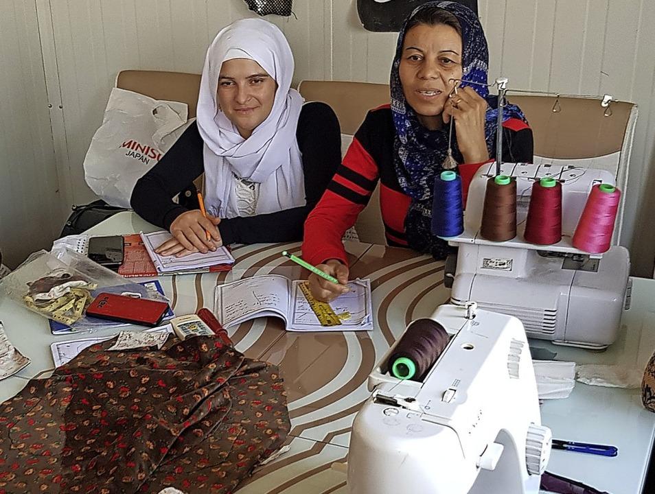 Hilfe zur Selbsthilfe: Die Nähateliers im Nordirak  | Foto: Zarok