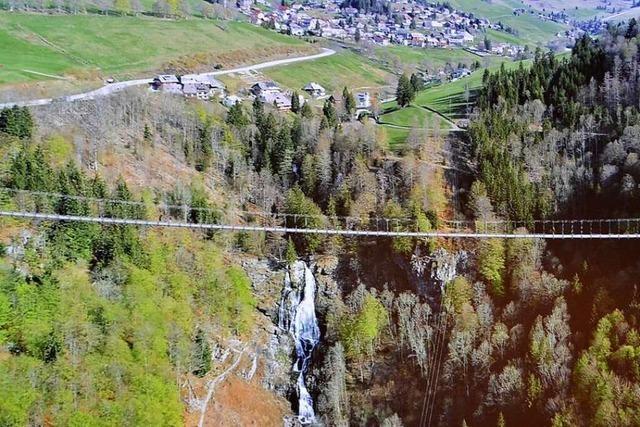 Gemeinderat gibt grünes Licht für Hängebrücke über Todtnauer Wasserfall