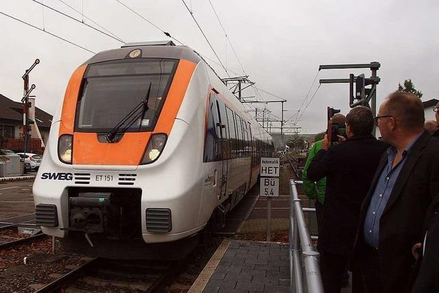 Die Kaiserstuhlbahn ist elektrifiziert – fährt aber wohl bis 2021 weiter mit Diesel