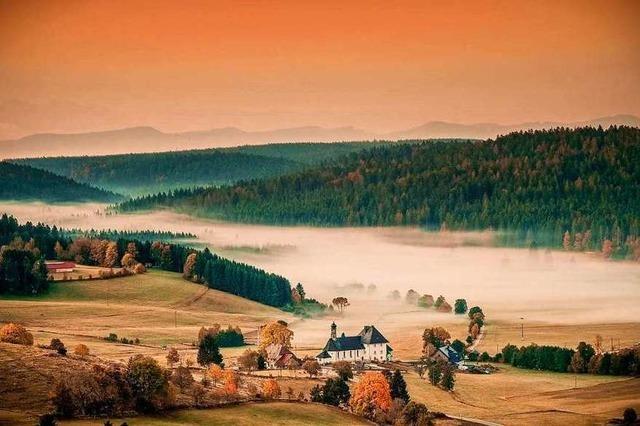 Das Ibacher Tal im Morgengrauen