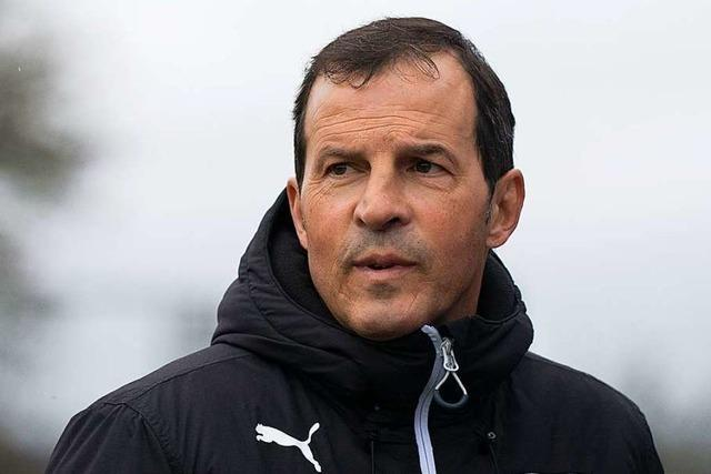 Nöggenschwiels Coach Giuseppe Pavano: