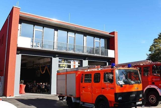 Die Feuerwehr in St. Georgen hat ein neues Gerätehaus