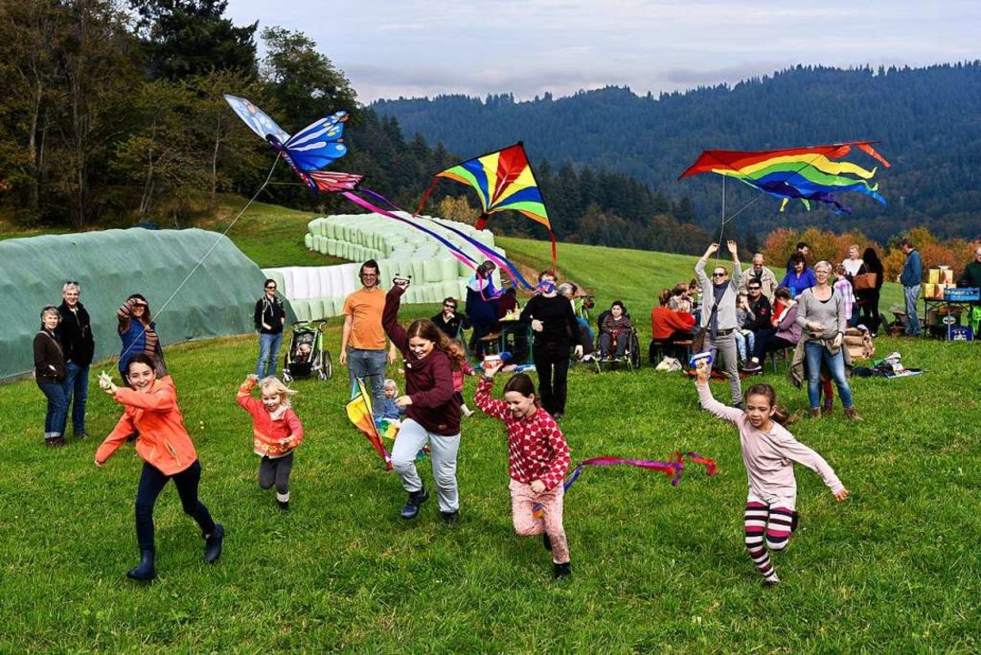 Drachenfest in Horben.  | Foto: Thomas Kunz