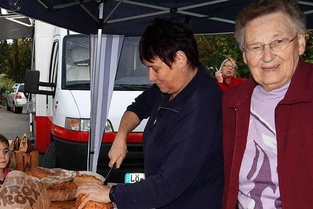 Nach 3000 Broten und 600 Metern Zopf ist Anna Wassmers Ofen aus