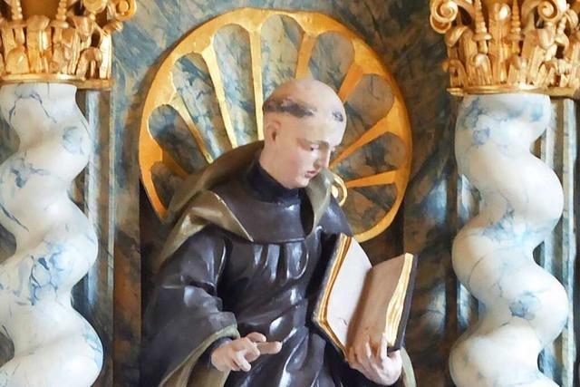 Der heilige Ulrich von Zell hat im Breisgau gelebt und gewirkt