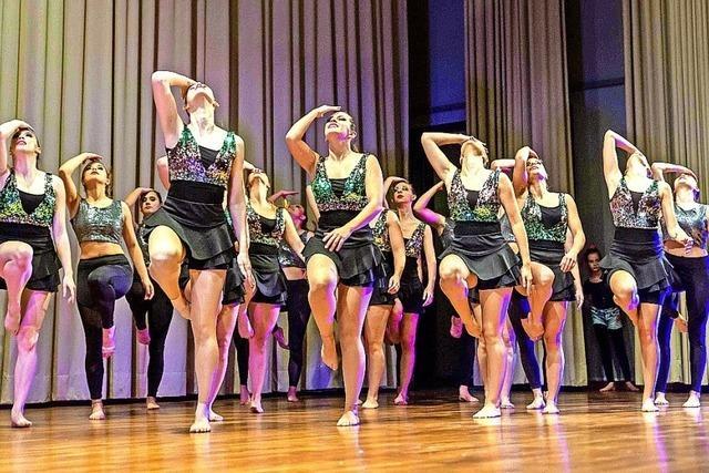 Großer Sport mit fantasievollen Choreografien