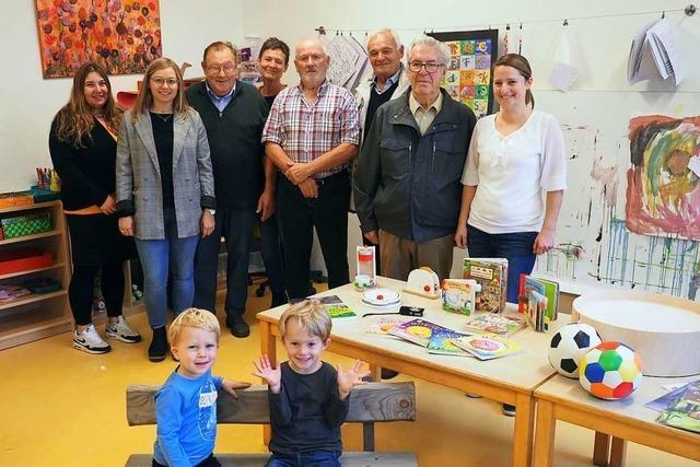 Grißheimer Gesangverein löst sich auf und spendet Vermögen an Kindergarten