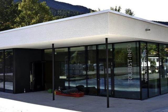 Das Kulturhaus in Simonswald ist bald fertig