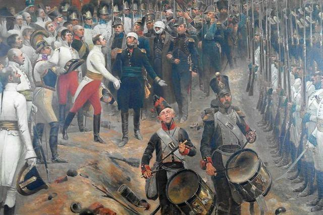 Als die Österreicher die Festung Hüningen belagerten