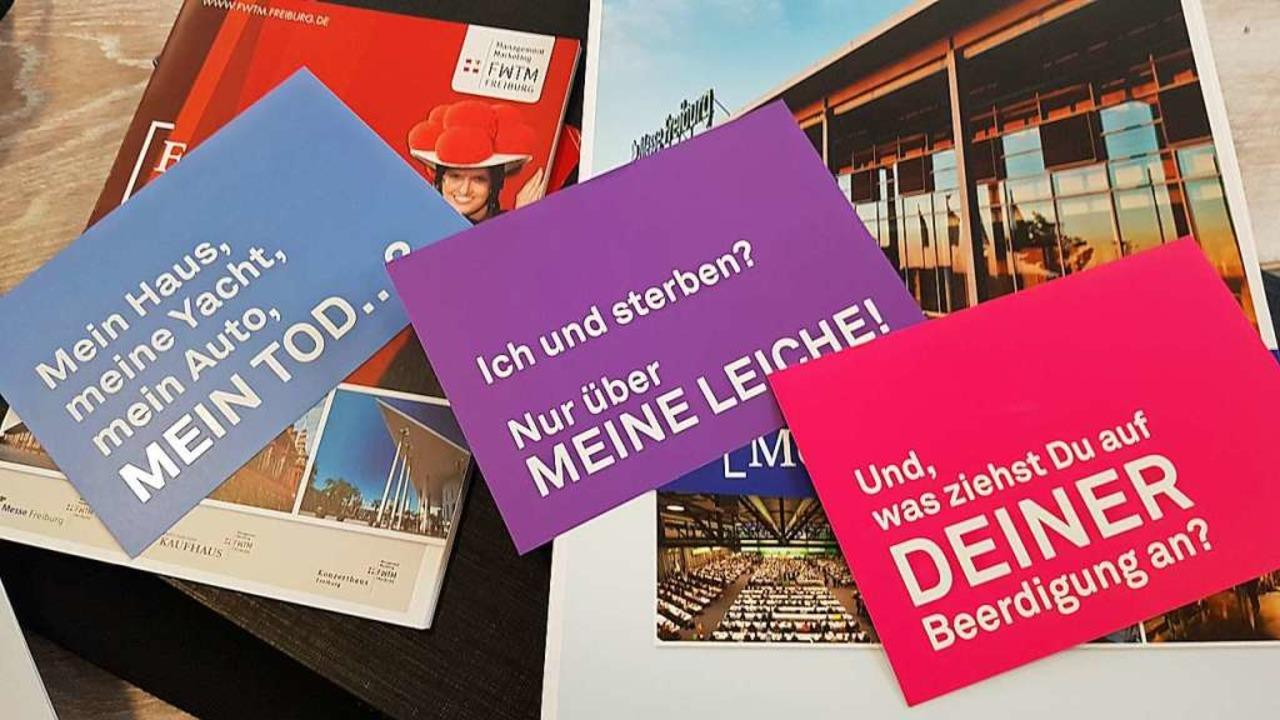 Mit Lockerheit soll das  ernste Thema Tod behandelt werden.  | Foto: FWTM Messe Freiburg