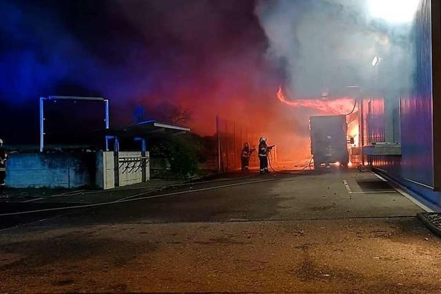 Millionenschaden bei Großbrand im Aargau