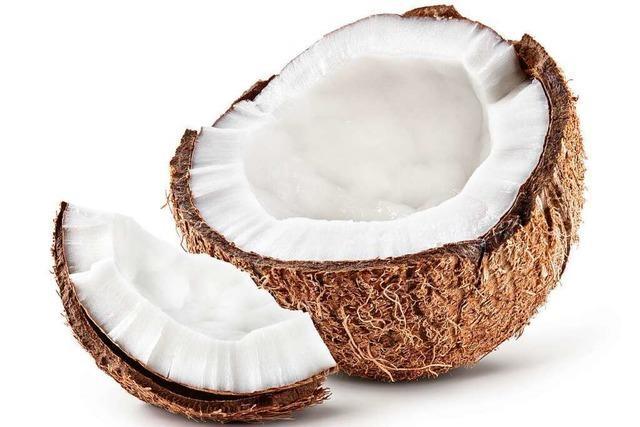 Wenn die Kokosnuss gluckert, ist es ein gutes Zeichen