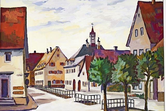 Bilder von Teningen, wie es einmal war