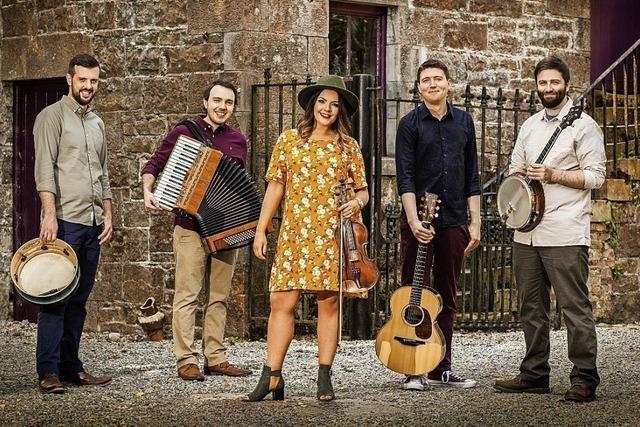 Fünf Musiker aus Limerick