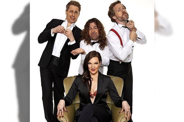 Stimmakrobaten bieten Comedy und A-cappella-Gesang
