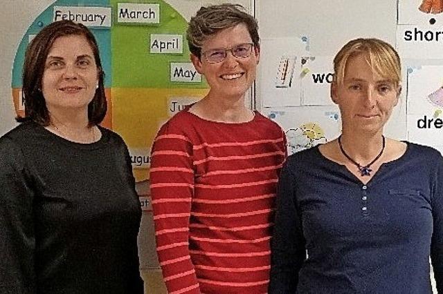 Zusammenarbeit Förderverein und Schule klappt