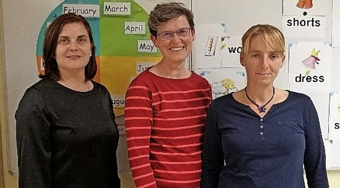 Neu im Vorstand des Fördervereins der ...ogel,  Iris Deutscher und Tanja Rünzi   | Foto: Andrea Paul-Faber