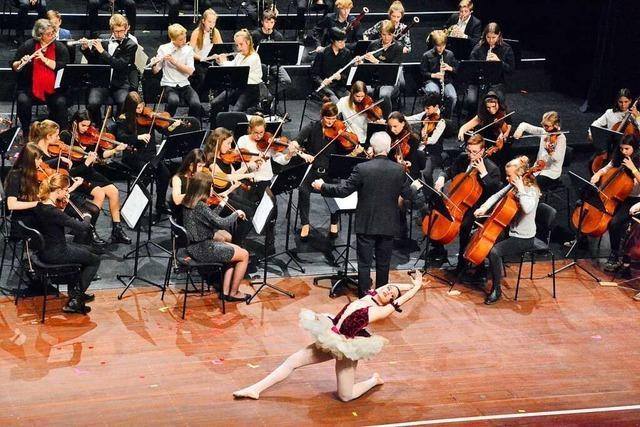 Die Nacht der Klänge bringt 250 junge Musiker auf die Burghof-Bühne