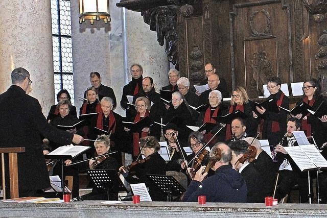 Domchor feiert seinen Geburtstag mit musikalischen Gästen