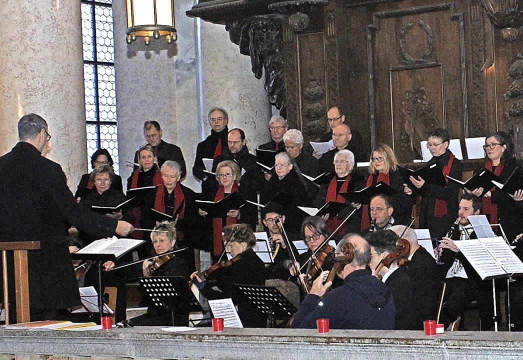 Der Domchor unter Leitung von Michael Neymeyer feiert am Sonntag sein Jubiläum.   | Foto: Cornelia Liebwein