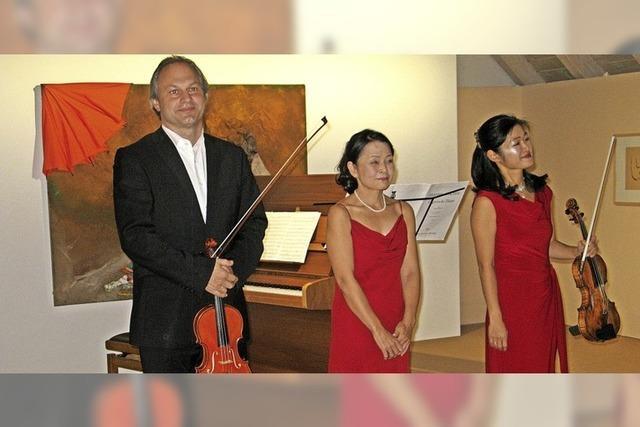Ein virtuoses Herbstkonzert in Bernau