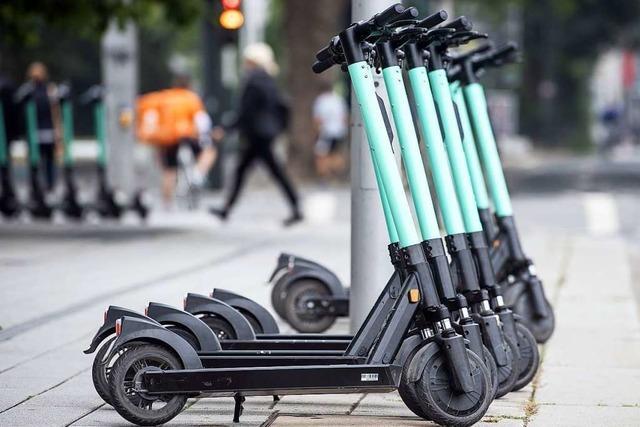 E-Tretroller zum Ausleihen gibt es in Freiburg wohl erst im Frühjahr