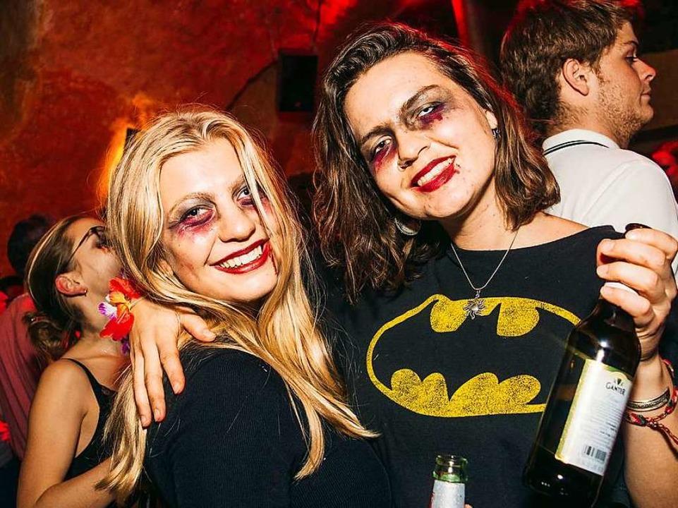 Auch im Gewölbekeller der Harmonie findet wieder eine Halloweenparty statt.    Foto: Sarah Mall