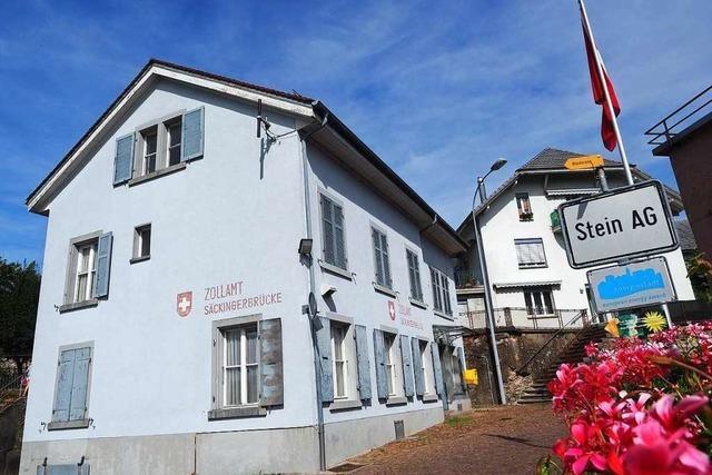 Das alte Zollhaus in Stein im Aargau bekommt ein neues Gesicht