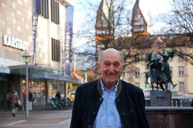 Der Bauunternehmer Ludwig Fischer hat sein Vermögen im Nahen Osten gemacht