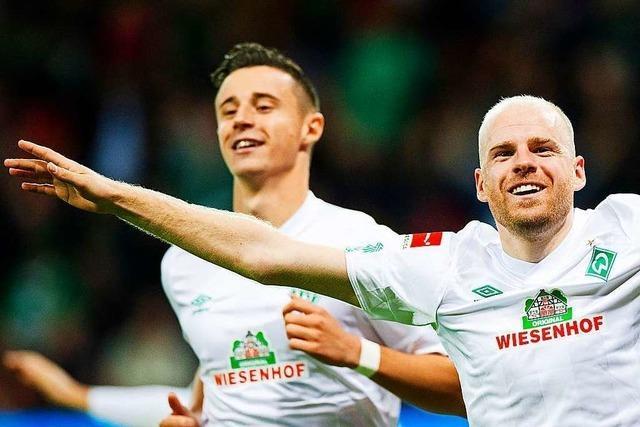 Emotionen, Emotionen: Werder Bremen erinnert Streich an Freiburg