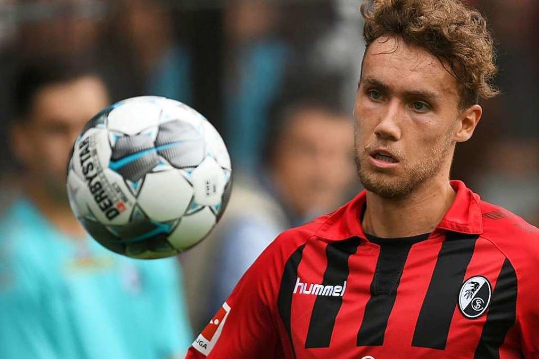 Luca Waldschmidt, Torschützenkönig der U21-EM und Herz des SC-Angriffspiels.    Foto: Patrick Seeger (dpa)