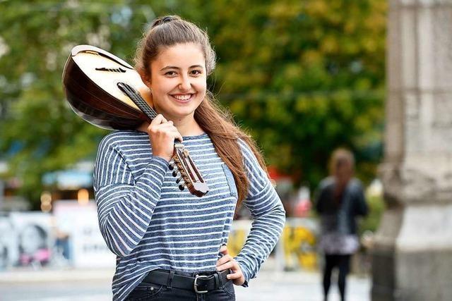 Amelie Jenzer: Die Mandoline ist einfach ihr Ding