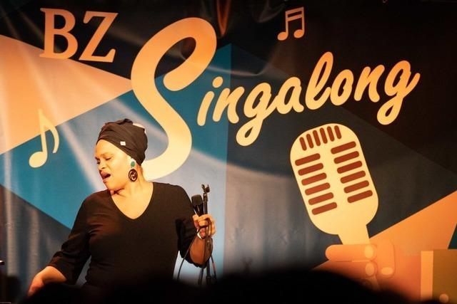 BZ-Singalong in Freiburg – Live-Musik zum Mitsingen