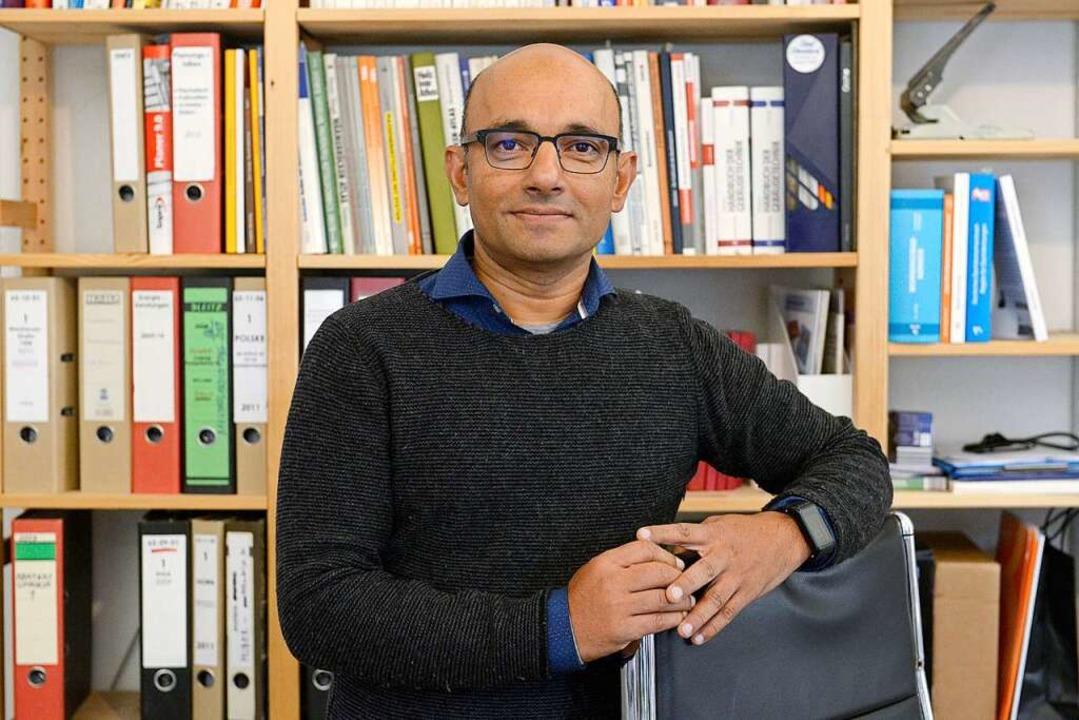 Debashish Chanda ist Bausachverständiger.  | Foto: Ingo Schneider