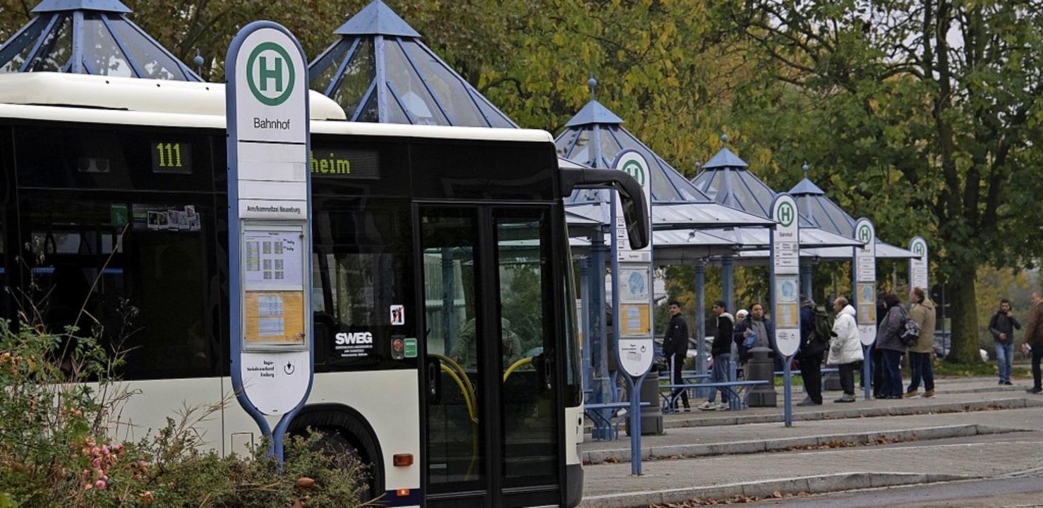Nach Vorstellung der Stadtverwaltung s...nftszeiten von Zügen abgestimmt sein.   | Foto: Volker Münch