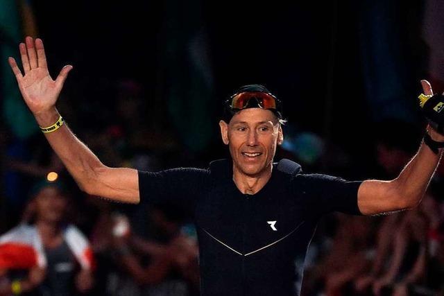 Jörg Kult aus Weil am Rhein ist beim Iron Man auf Hawaii gestartet