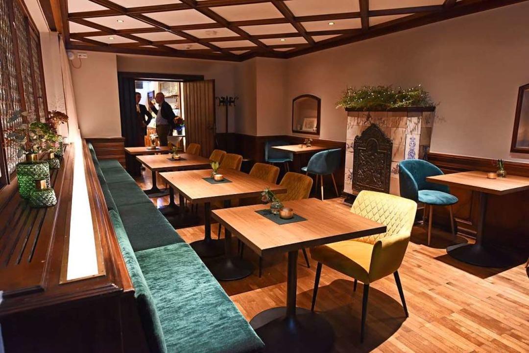 Sitzplätze im Restaurant.  | Foto: Rita Eggstein