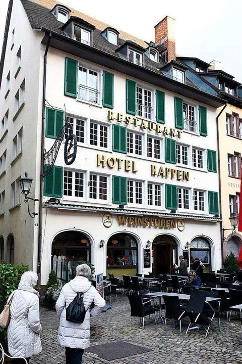 Das Hotel-Restaurant am Münsterplatz. (Archivbild)  | Foto: Thomas Kunz