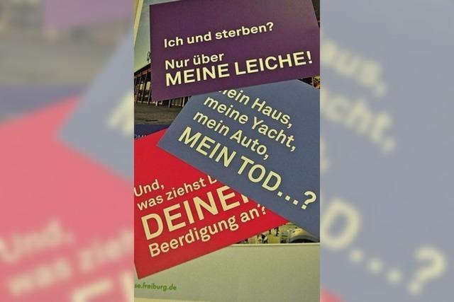 In Freiburg soll 2020 die Messe Leben und Tod stattfinden