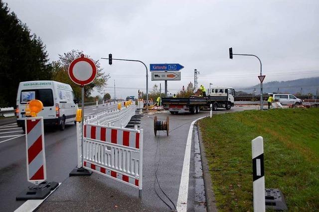 In Rheinfelden sorgen Verkehrsschilder für Verwirrung