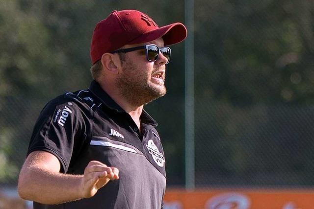 Wallbach-Coach Andreas Braunagel: