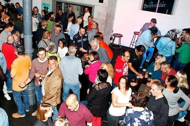 Knapp 500 Besucher auf der Ramsch-Party in Lahr
