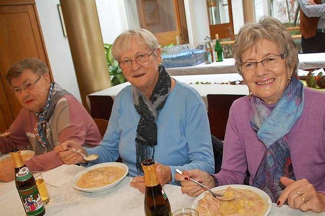 Der Suppentag ist ein fester Termin im Bürgerheim Rheinfelden