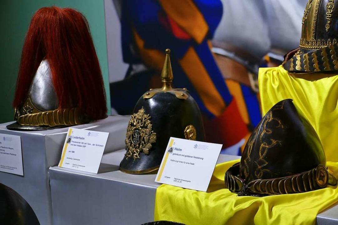 Impressionen aus der Ausstellung über die Schweizergarde  | Foto: Nina Witwicki