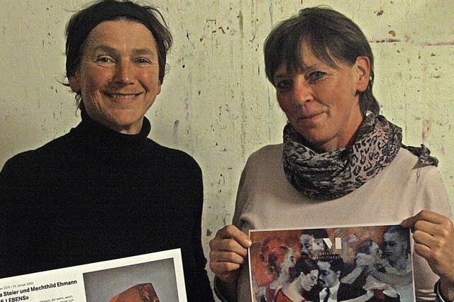Zwei Künstlerinnen im Dialog
